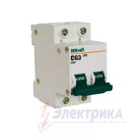 Авт. выкл. 2Р 32А х-ка C ВА-101 4,5кА DEKraft 11069DEK  Scneider Electric